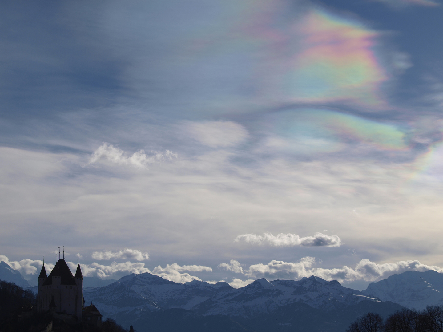 crasy Sky crasy Day - Irisirende Wolken