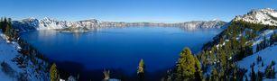 Crater Lake - Panorama von Peter Heidl