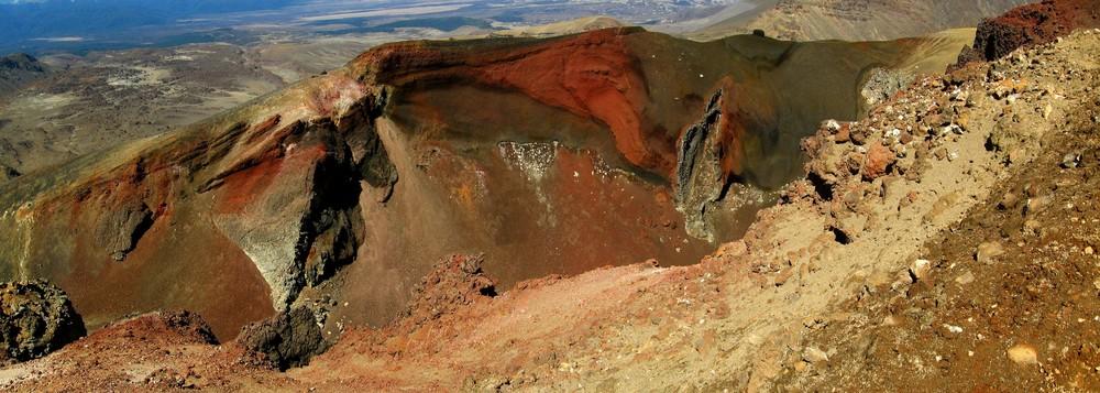 Cratère vaginale du Tongariro