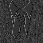 cravata neagra