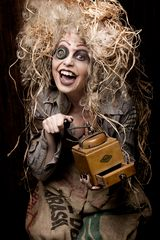 Crazy scarecrow