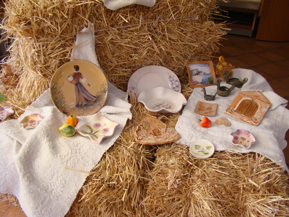 Creazioni in ceramica di Lucia e Giulia Salis