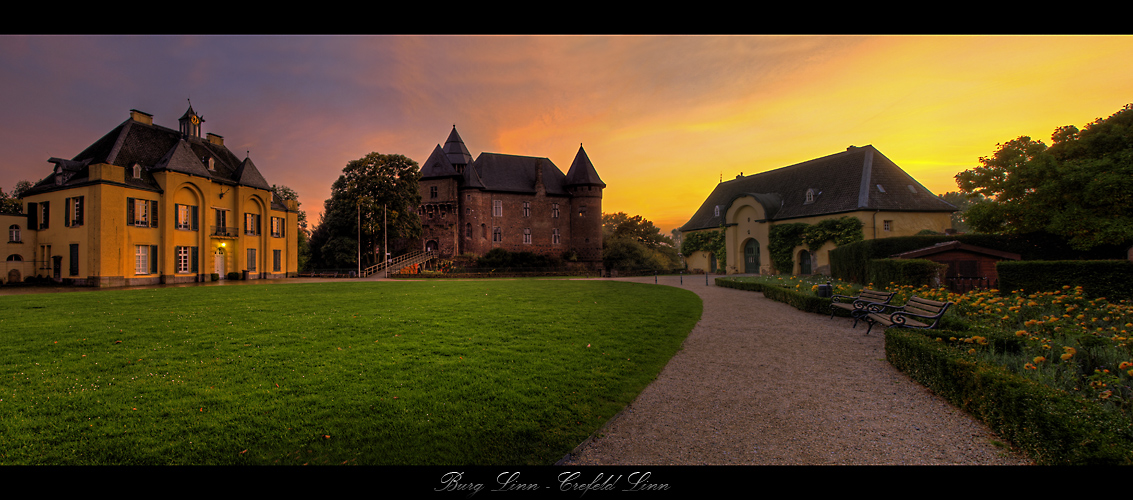 Crefeld - Burg Linn