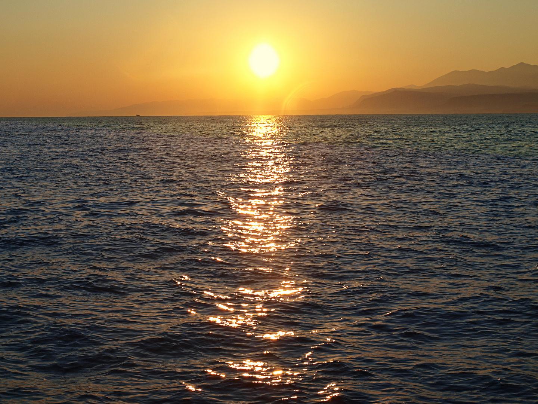 Crete Heraklion sea