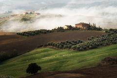 Crete Senesi .. eine Landschaft wie gemalt