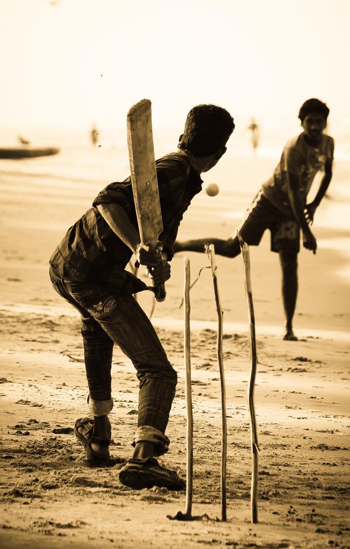 Cricket - Varkala Beach