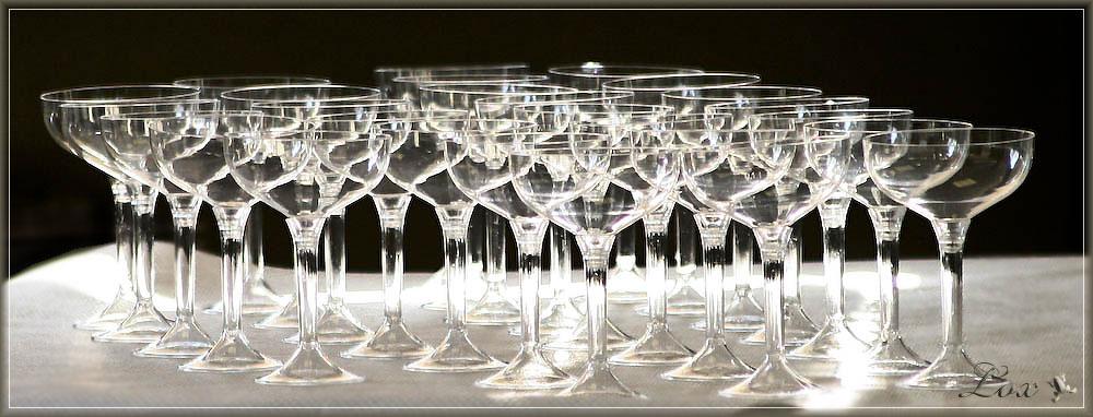 Cristall glass? no plastic glass...