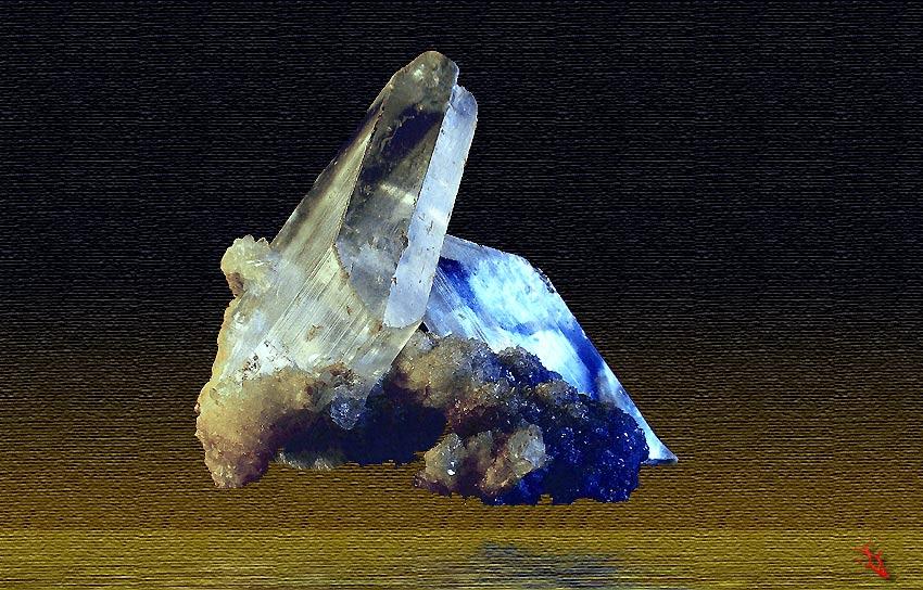 Cristalli monoclini di Gesso - Toscana