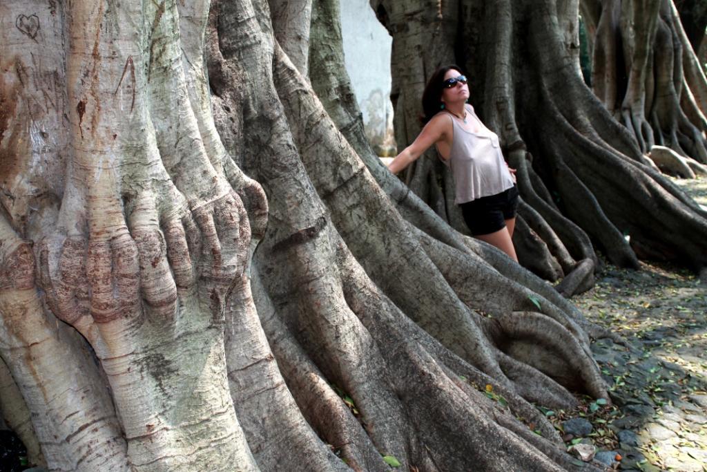 Cristina en el parque Melchor Ocampo 3