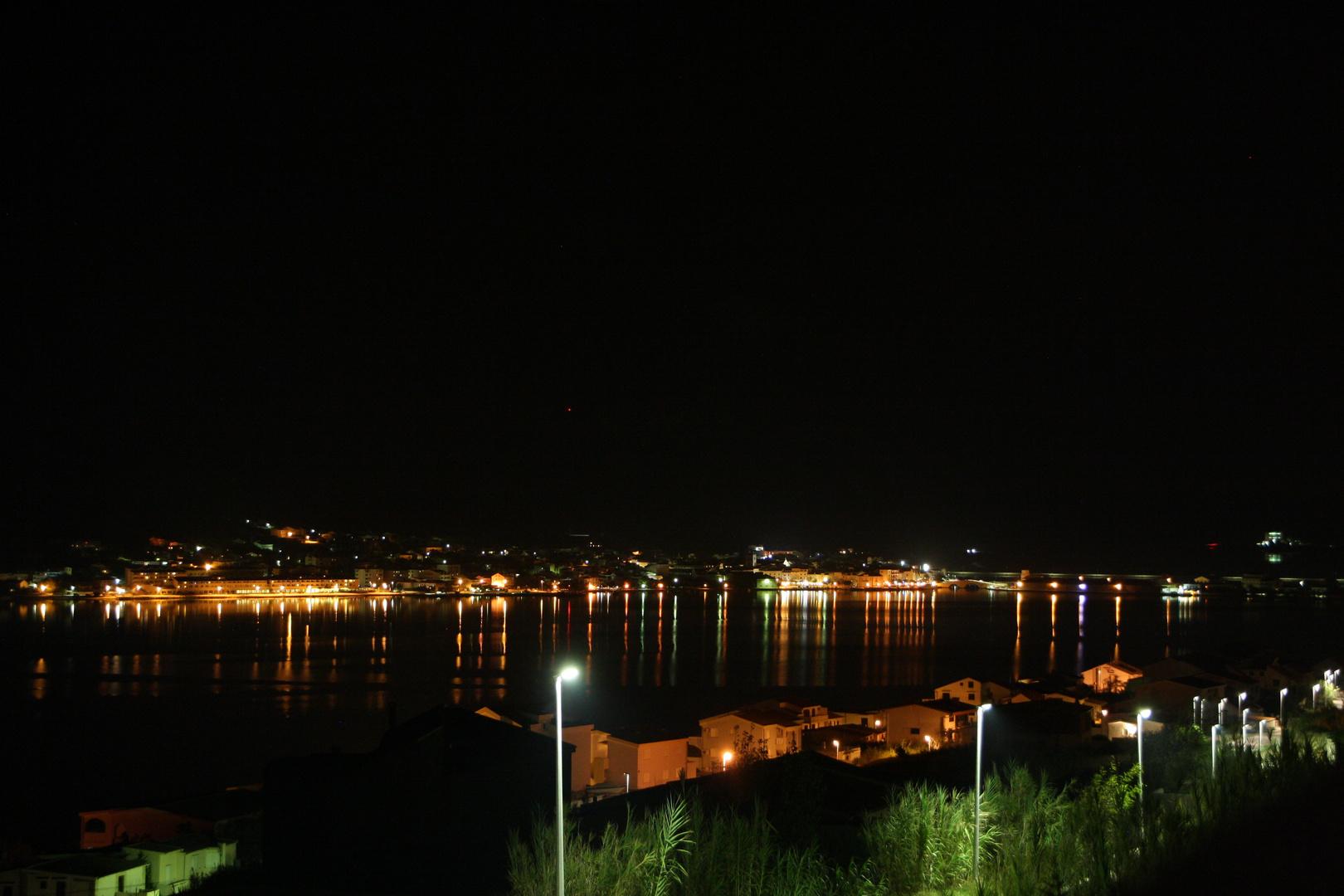 Croatia Pag bei Nacht