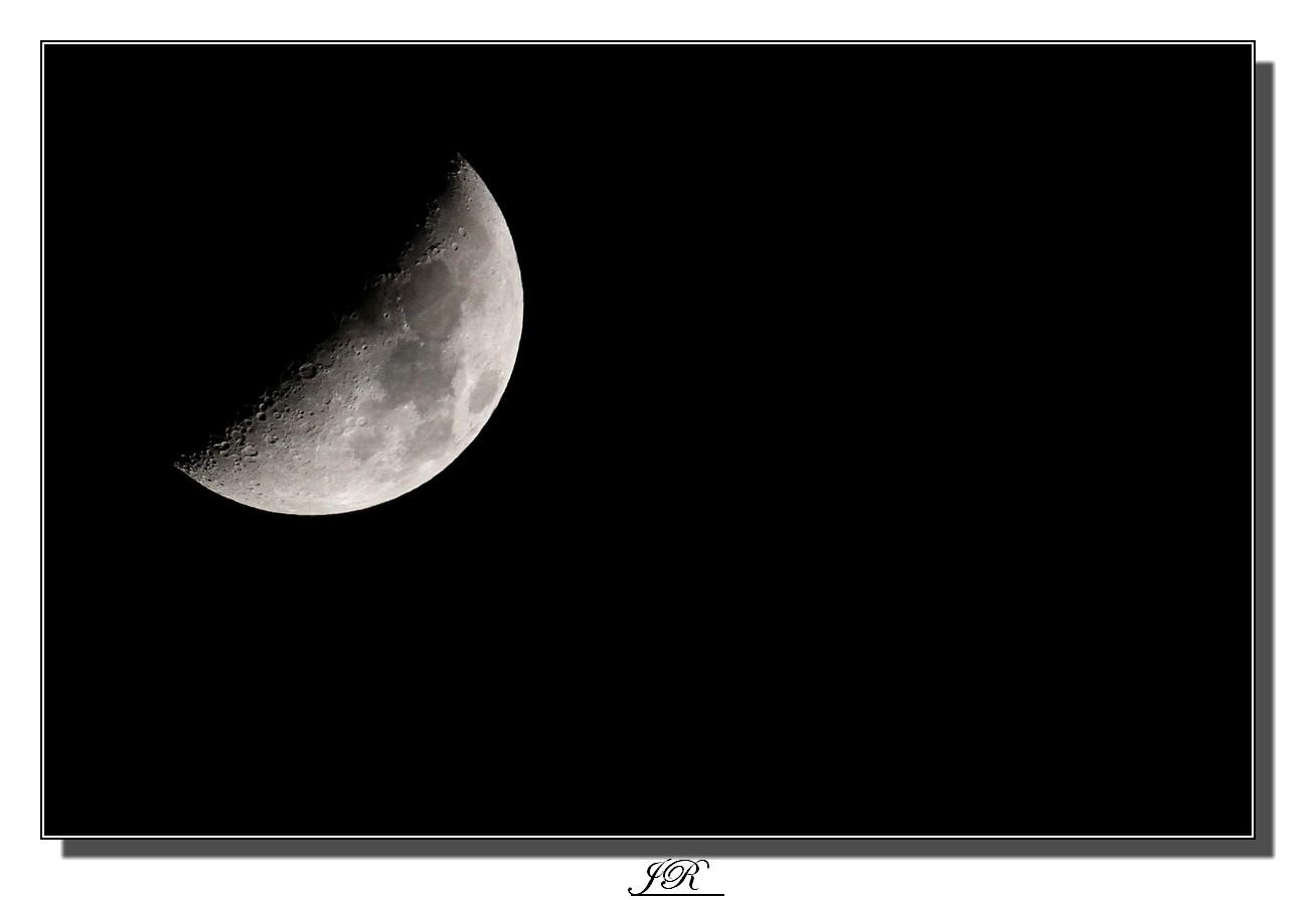 Croissant de lune !!!