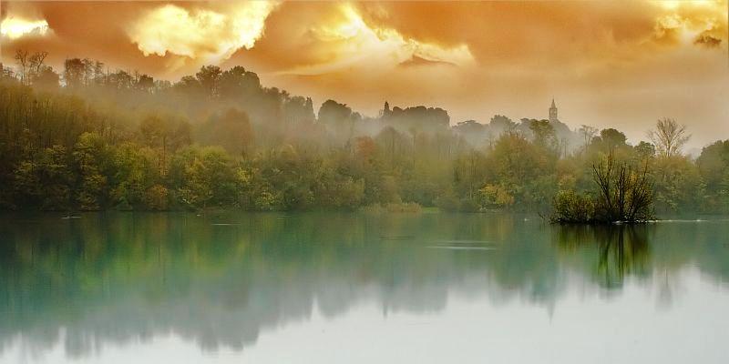 Cromatismi di un tramonto