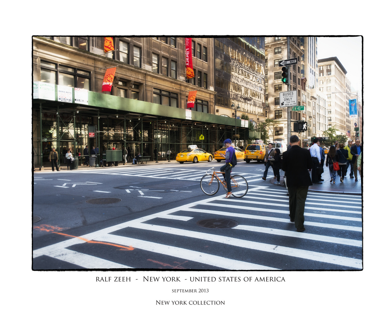 cross the street no.V