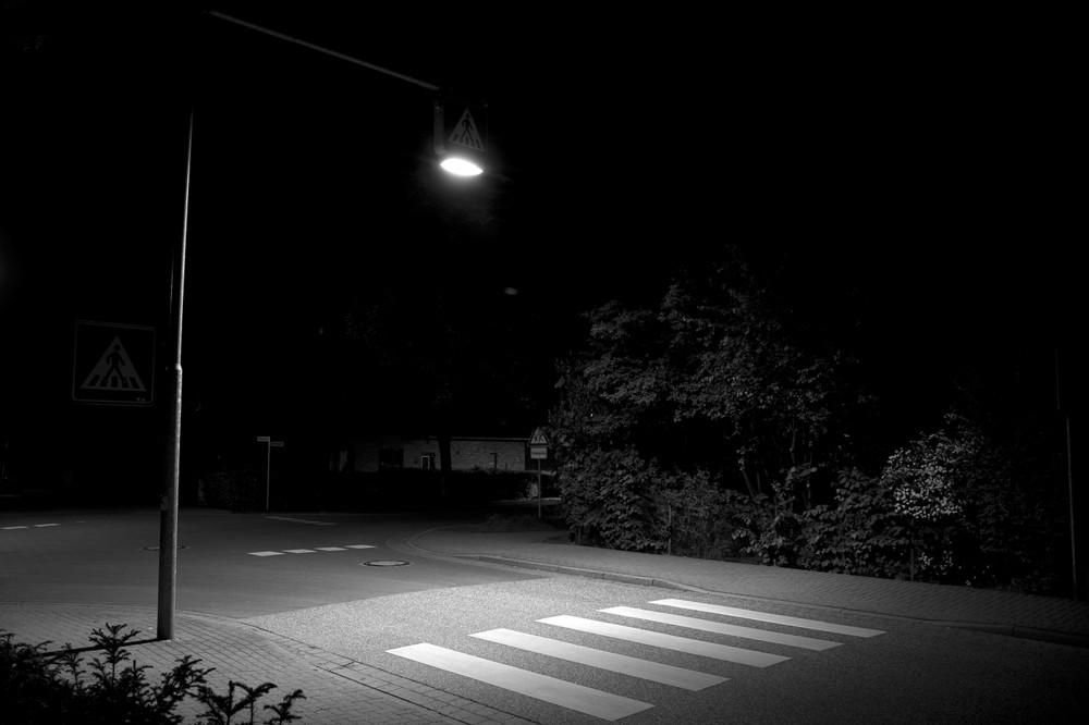 crosswalk @ night