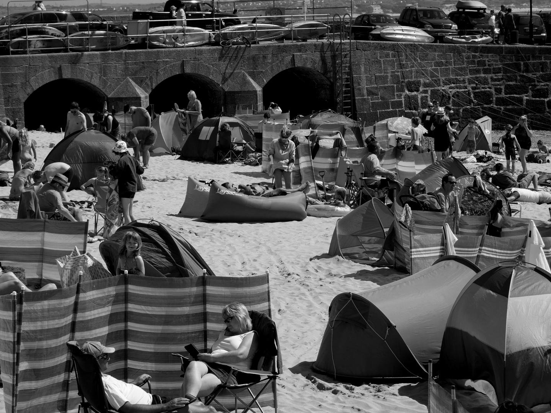 """""""Crowded Beach"""""""