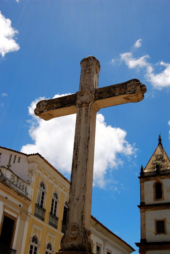 Crucero en el Terreiro de Jesús. Bahia. Brasil.