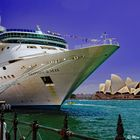 Cruise Ship and the Opera House
