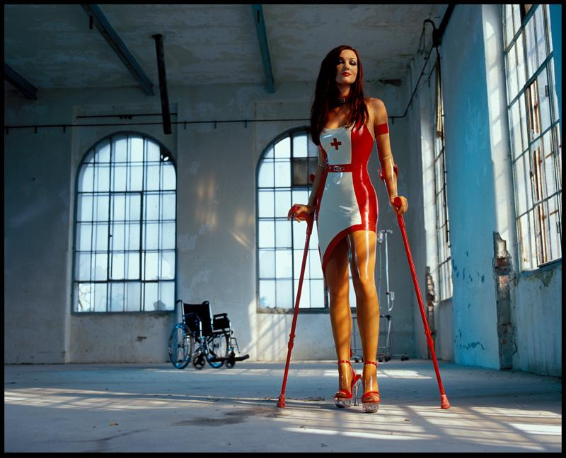 Crutches and Heels 01