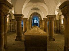 Crypta Eglise Sainte Croix - Quimperle - Finistere / Bretagne