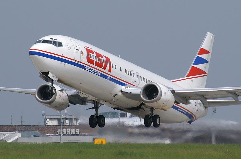 CSA Boeing 737-400, Brno-Turany (BRQ)