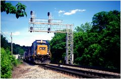 CSX at Sandy Hook