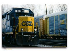 CSX on the Move
