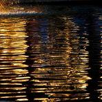 Cuando el Sol se hace oro y se baña a la caída de la tarde.