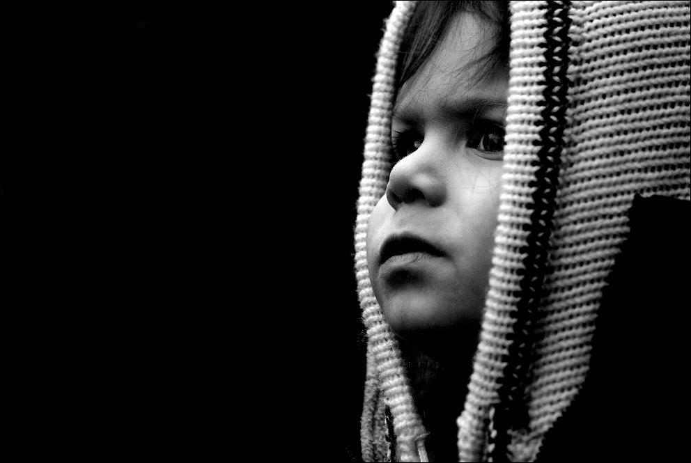 """""""Cuando los niños sueño ..."""" (b-n-versión)"""