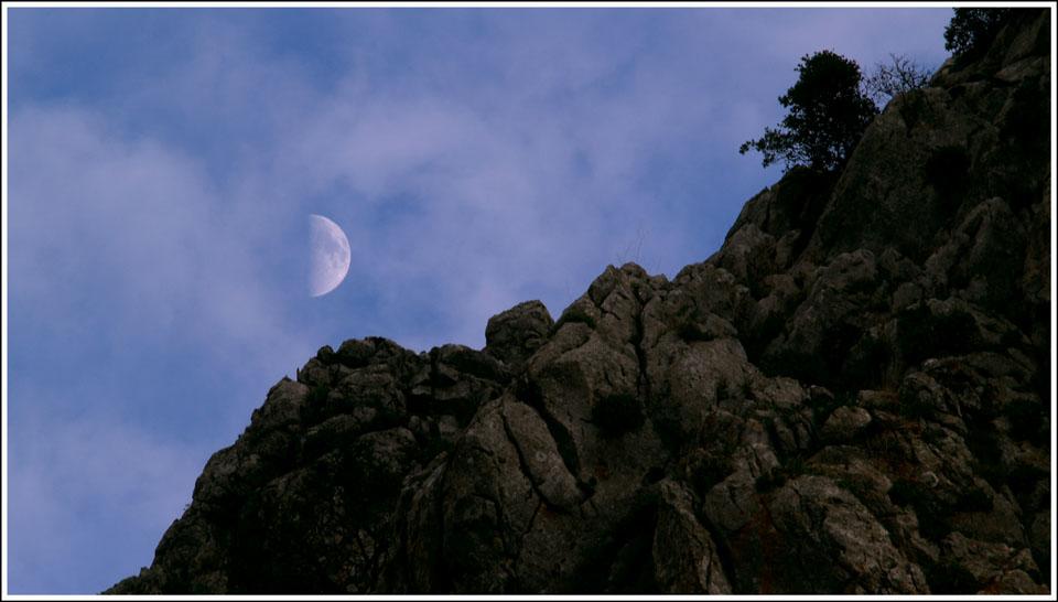 Cuarto creciente Imagen & Foto | cielo y universo, naturaleza Fotos ...
