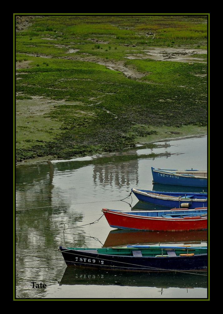 Cuatro barcas