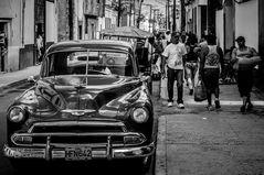 Cuba Car B&W No. 2