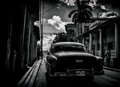 Cuba Car B&W No. 22