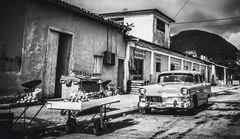 Cuba Car B&W No. 23