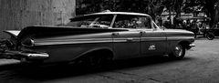 Cuba Car B&W No. 24
