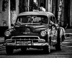 Cuba Car B&W No. 5