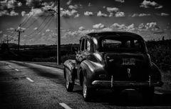 Cuba Car B&W No. 6