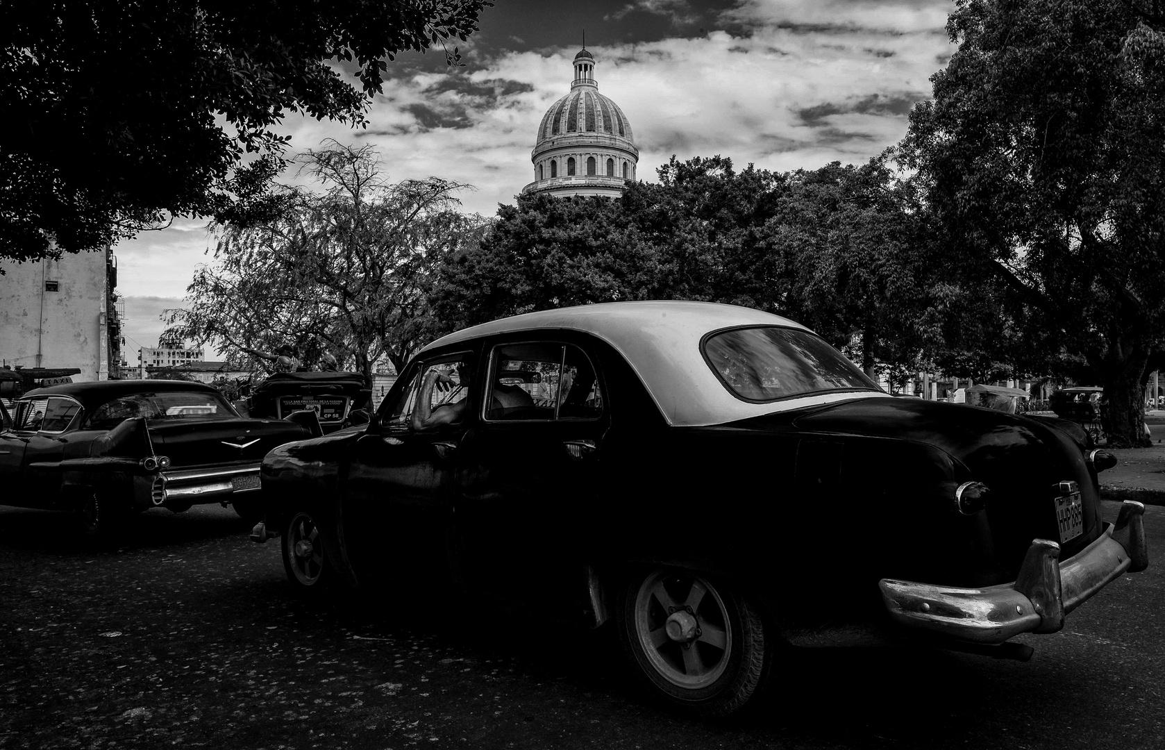 Cuba Car B&W No. 9