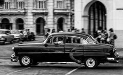Cuba Car B&W No.20