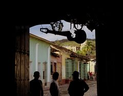Cuba Casa Trinidad street