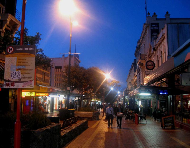 Cuba st. Mall