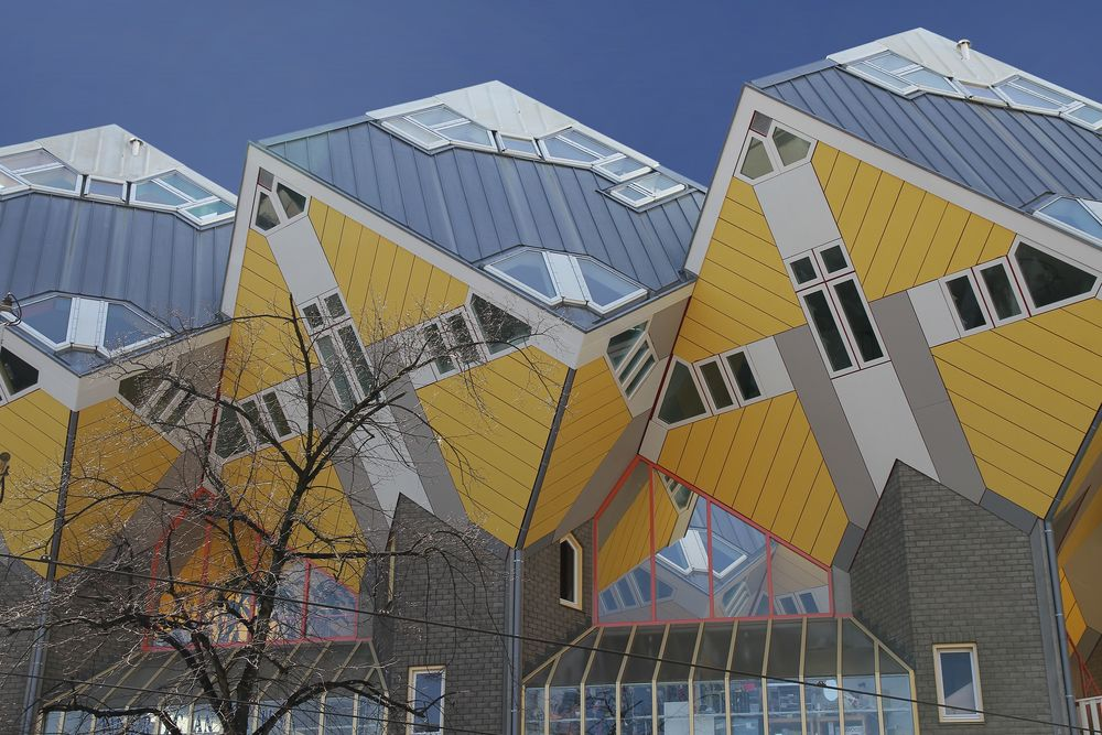 cubes in rotterdam