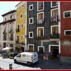 CUENCA - casas coloreadas