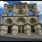 CUENCA - fachada de la catedral