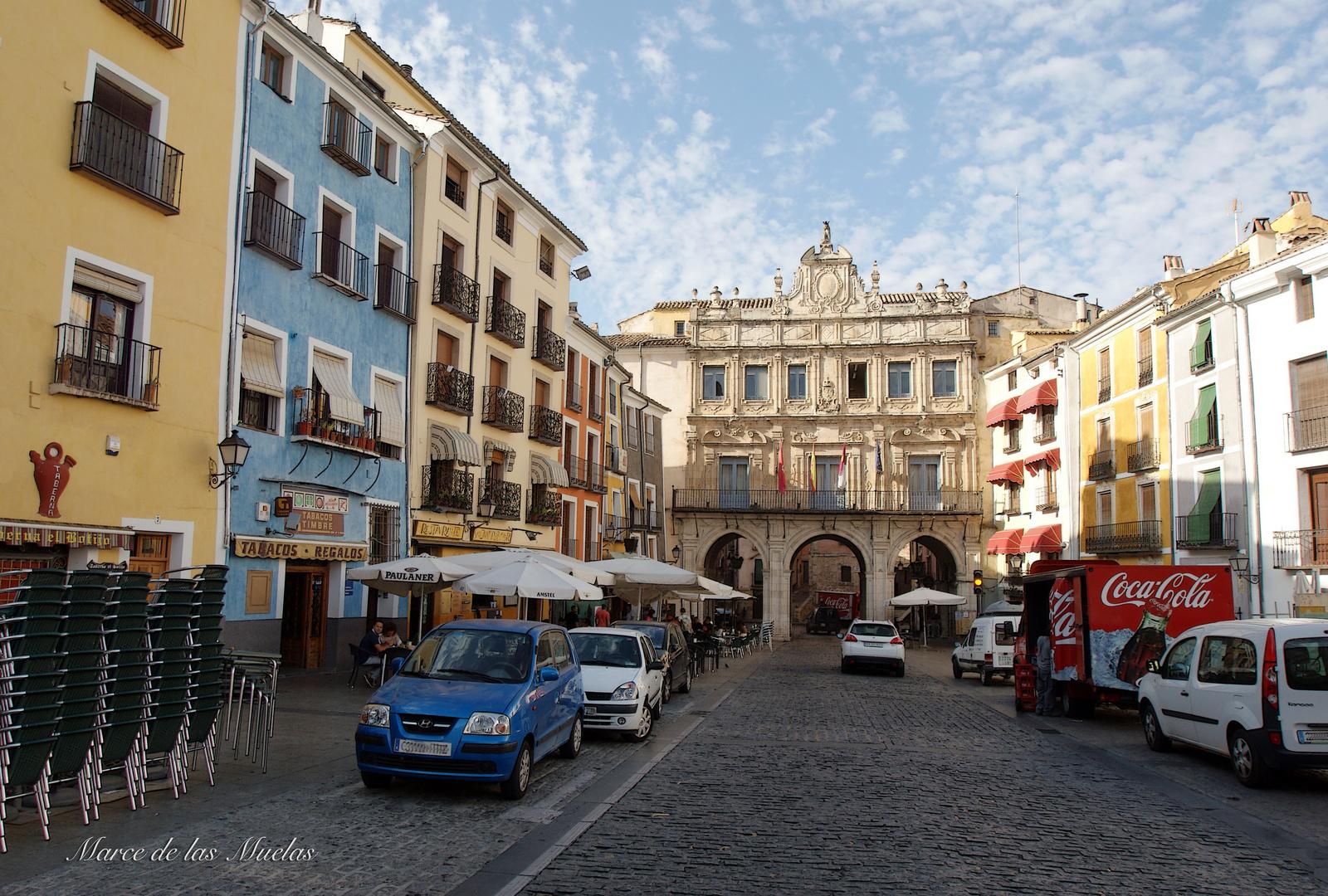 ..Cuenca...la plaza...