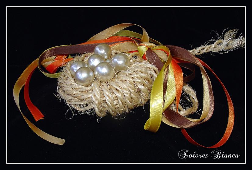 Cuerda y perlas