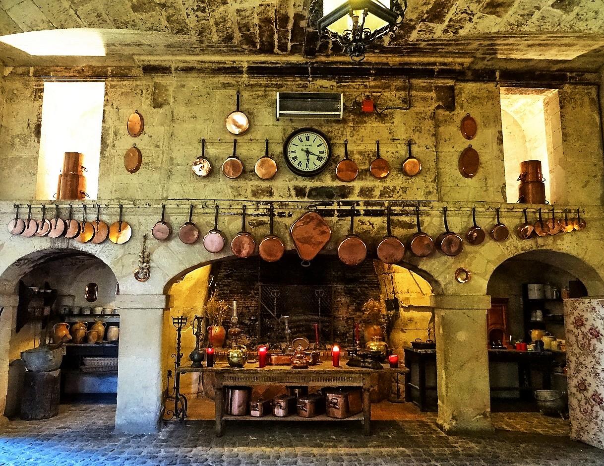 Cuisine d'époque au Château de Brissac (49)