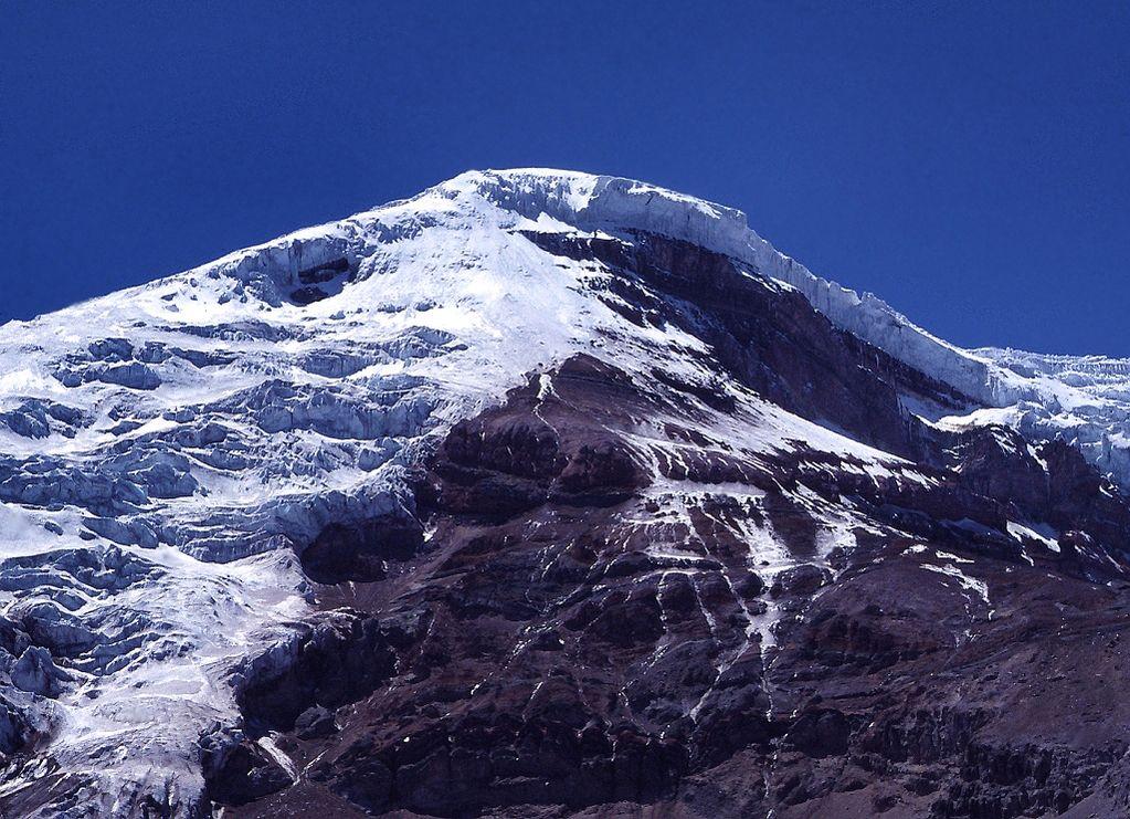 Cumbre del Chimborazo.