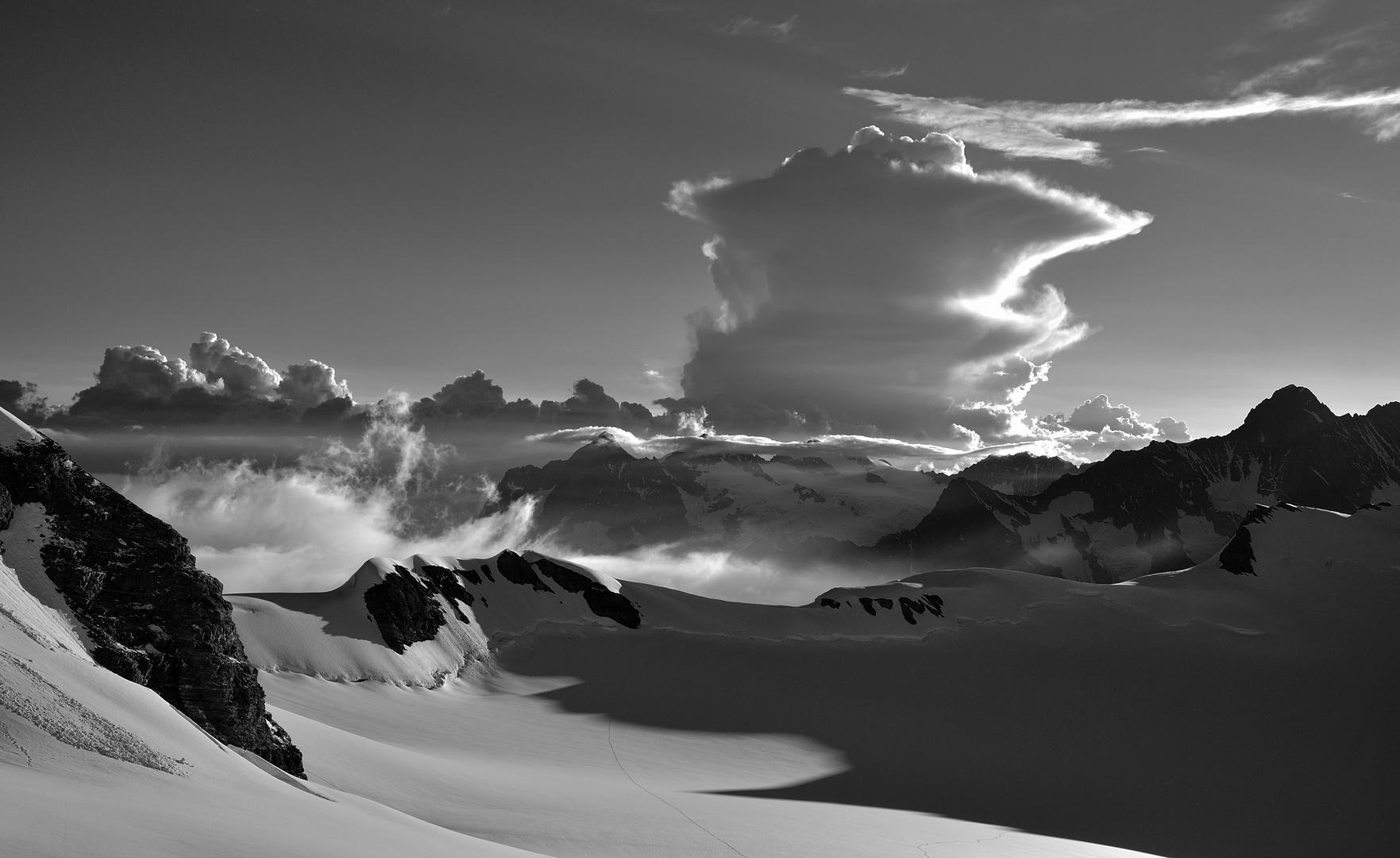 Cumulonimbus Foto & Bild | wolken, s-w, natur Bilder auf ...