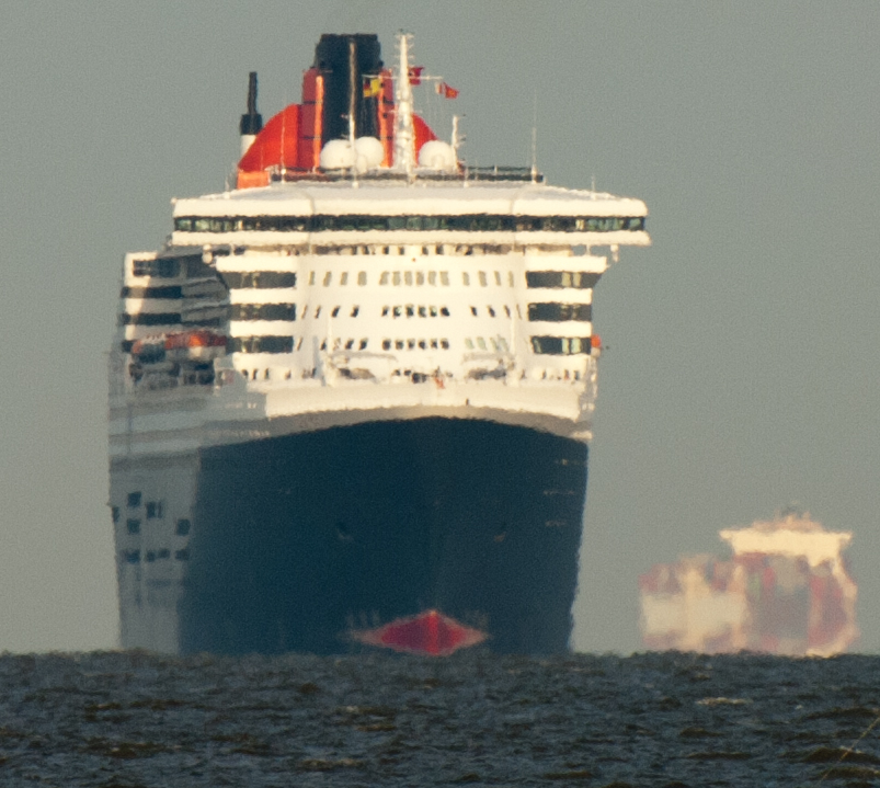 Cunard hat Queen Mary 2 an Aida-Cruises abgegeben...