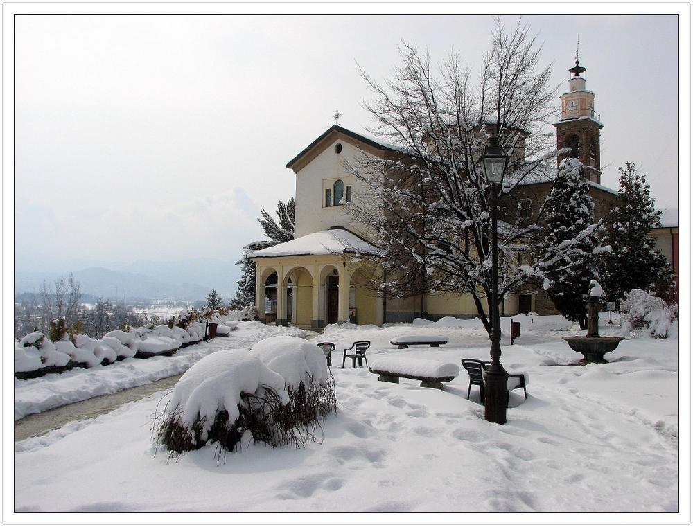 Cuneo. Santuario degli Angeli.